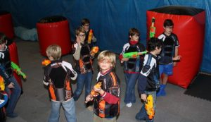 Campo de Nerf al Sur de Madrid en Iberika Paintball Madrid Indoor