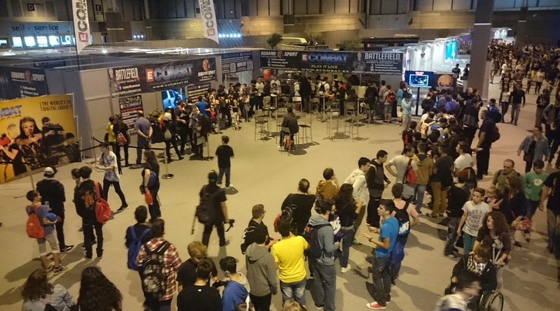 Madrid Games Week 2015 Madrid Gaming Experience 2016