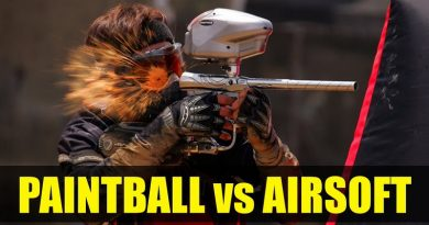 Paintball vs Airsoft vs Ecombat
