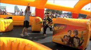 Nerf Madrid Juego de guerra para niños