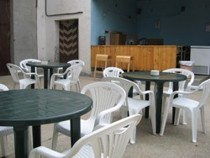 Paintball en Iberika Paintball Madrid - Nueva cafeteria al aire libre